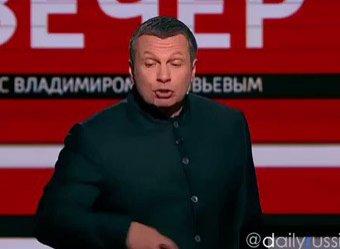Господи, опять!: телеведущего Соловьева дважды за неделю обманул пародийный сайт Панорама